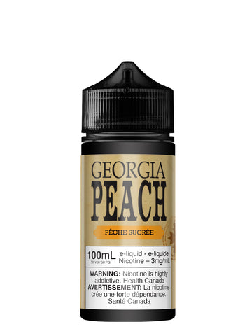 Georgia Peach 100ml par Vapeur Express
