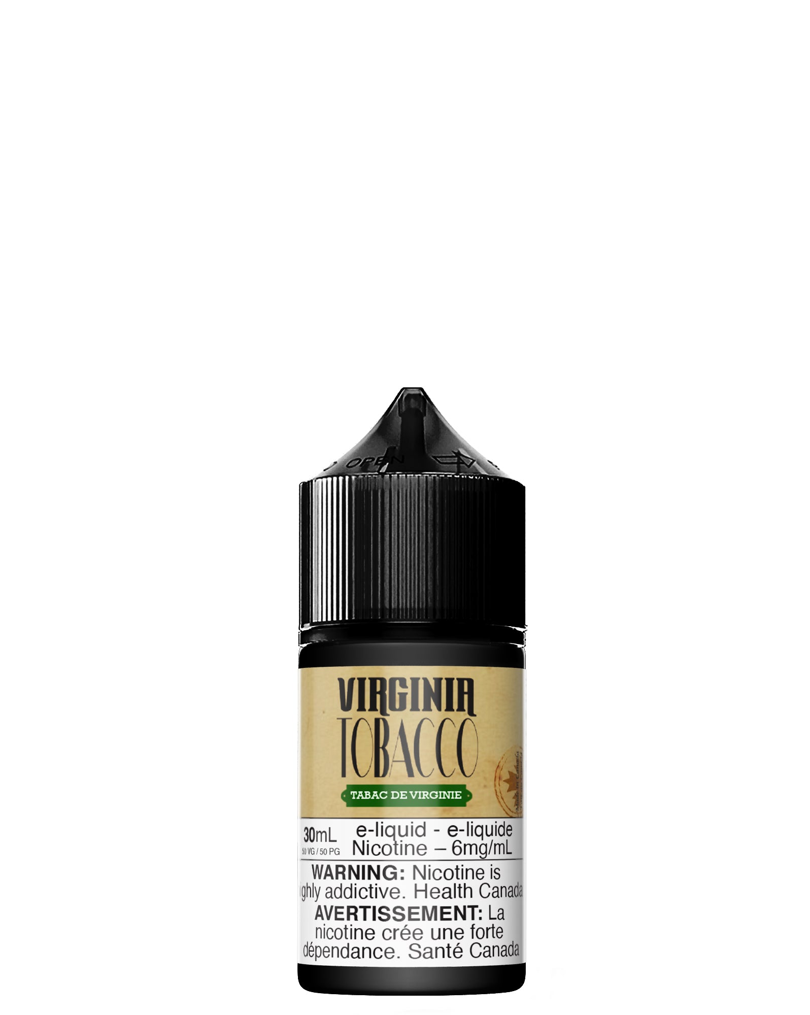 Virginia Tobacco 50PG/50VG 30ml by Vapeur Express