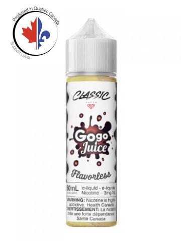 Flavorless 60ml by Gogo Juice, Gogo Juice - DigitalSmokeSupplies.com