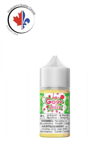 Watermelon 30Ml By Gogo Juice Total No Nic Level Needed