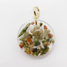 Load image into Gallery viewer, Unakite Pendant