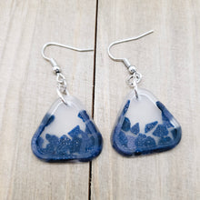 Load image into Gallery viewer, Blue Goldstone Earrings