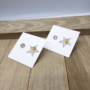 Stud and Statement earrings