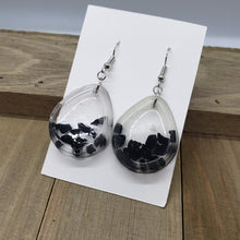 Load image into Gallery viewer, Black Tourmaline Earrings