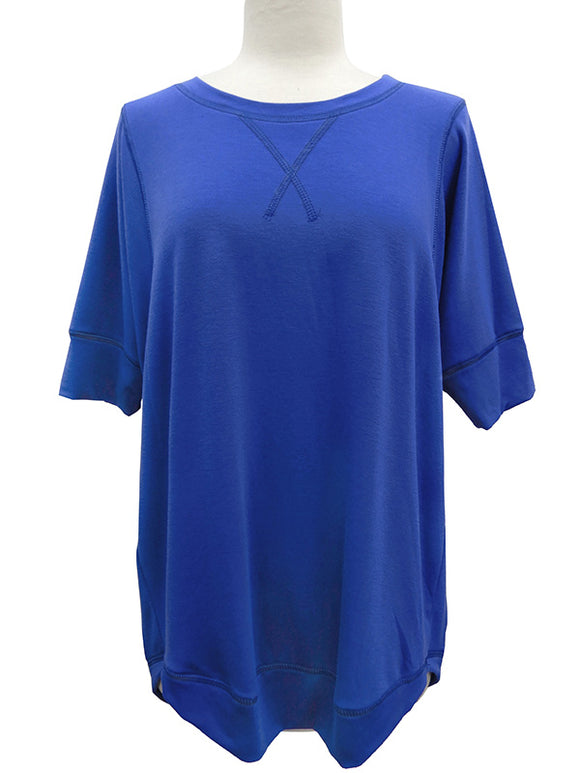 Short Sleeve French Terry Top - More Colors