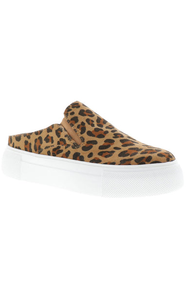Leopard Slip On Shoes