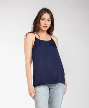 Solid Camisole Top - Deep Navy