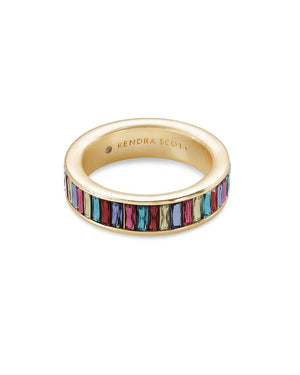 Jack Band Ring - Jewel Tone