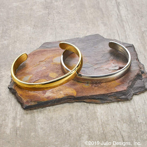 Solid Metal Cuff Bracelet - More Colors