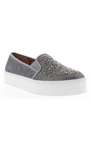 Jeweled Slip On Sneaker