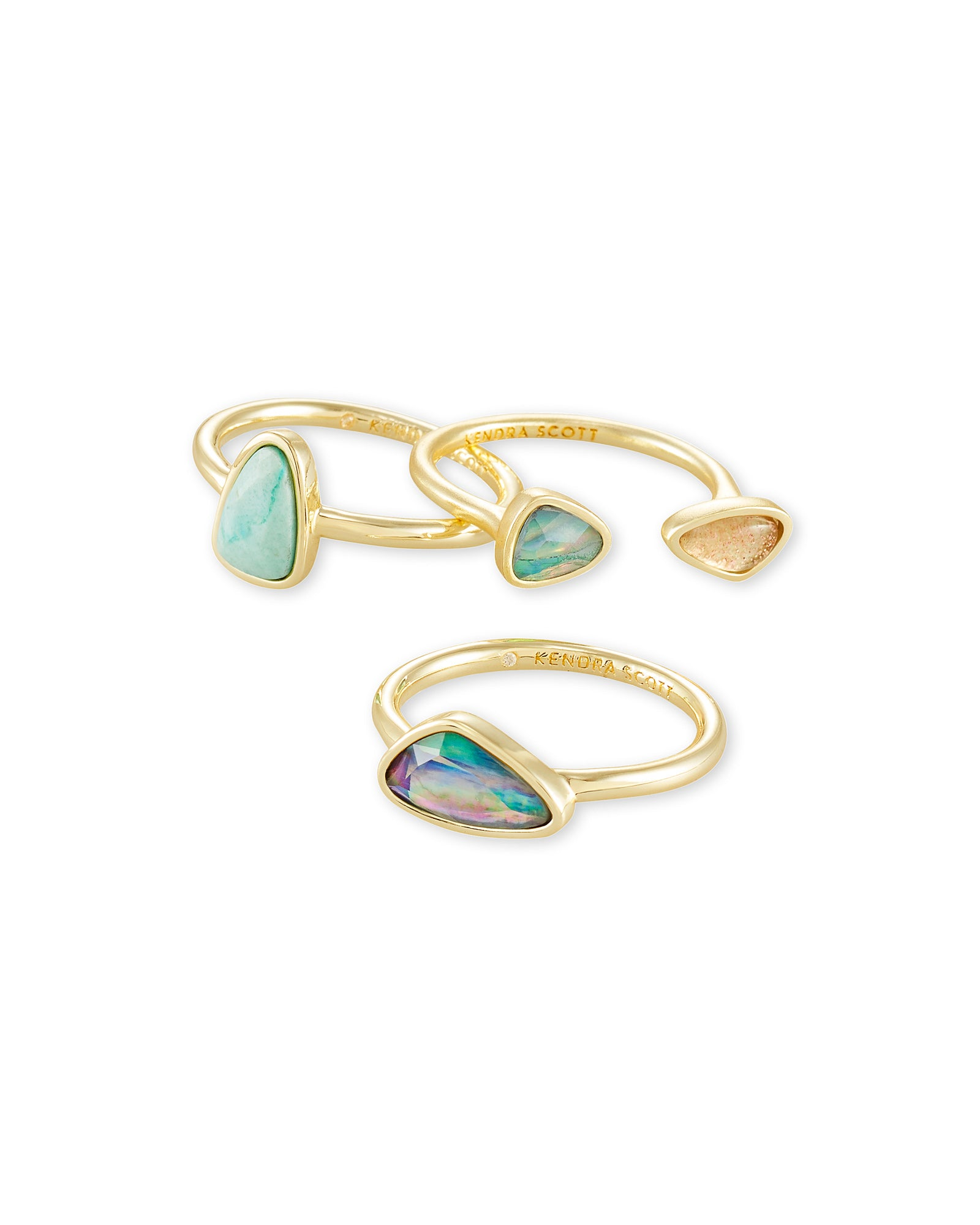 Ivy Ring Set - More Colors