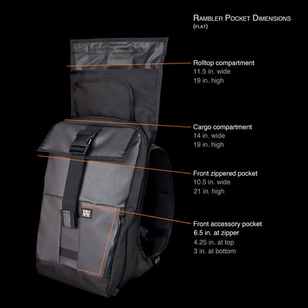 The Rambler Expandable Cargo Pack