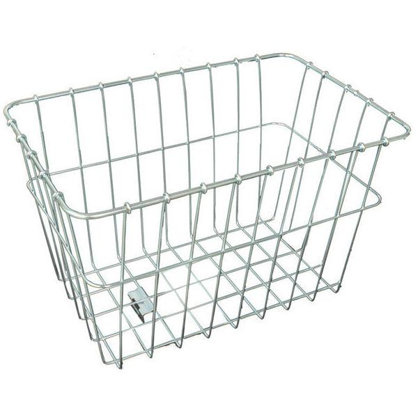 Wald Rear Basket, Silver