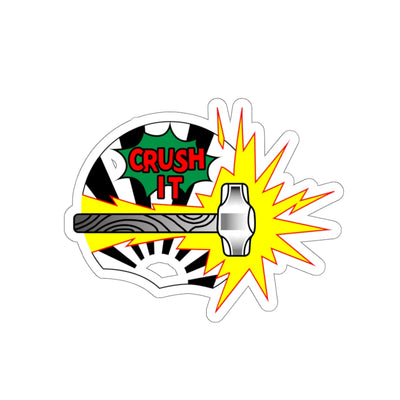 """Crush It"" Stickers - Crushing The Day"