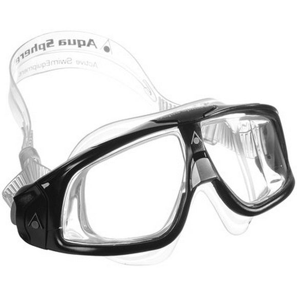 AquaSphere Seal 2.0 Adult Goggle Clear lens - Black + Grey