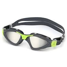 AquaSphere Kayenne Adult Goggle Mirror Lens - Grey + Green