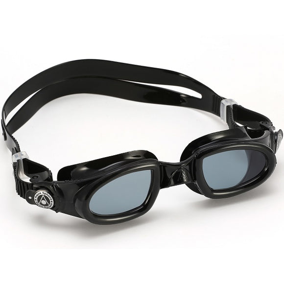 AquaSphere Mako 2 Adult Goggle Dark Lens - Black + Black