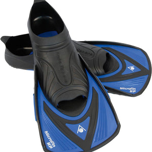 AquaSphere Micro Fin Junior - Blue / Black