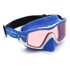 Aqua Lung Versa Mask Clear Lens Blue