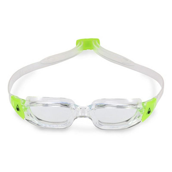 AquaSphere Kameleon Junior Goggle Clear Lens - Lime