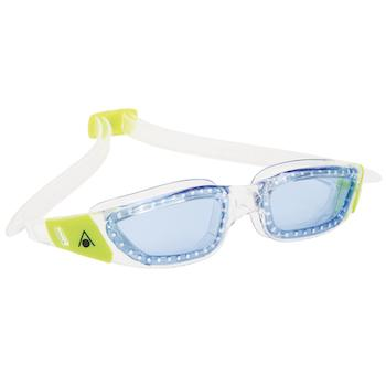 AquaSphere Kameleon Kid Goggle Blue Lens - Clear - Lime