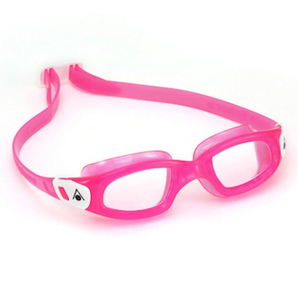 AquaSphere Kameleon Kid Goggle Clear Lens - Pink - White