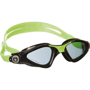 AquaSphere Kayenne Junior Goggle Dark Lens - Black + Lime