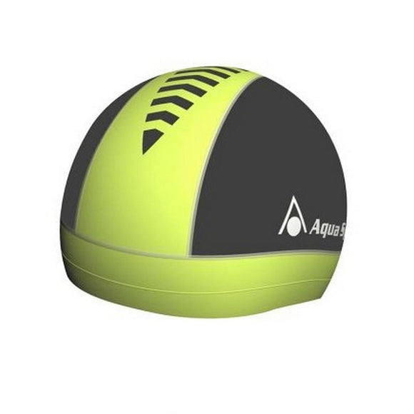 AquaSphere Skull Cap - White - Yellow