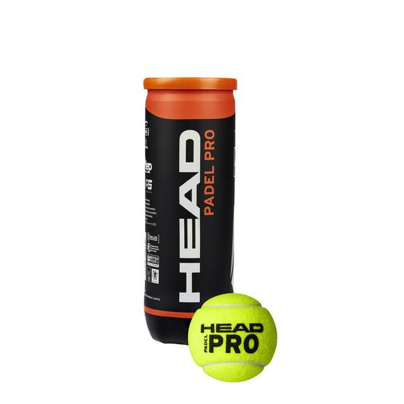 Head Padel Pro Padel Ball 4 x 3 Ball Can