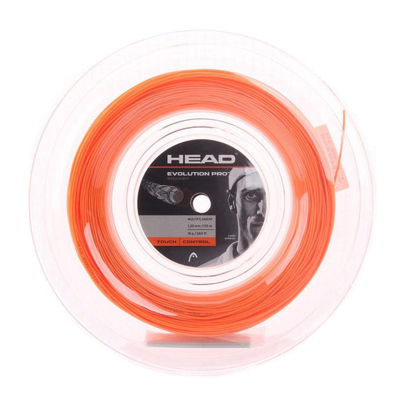 Head Evolution Pro Squash String Orange