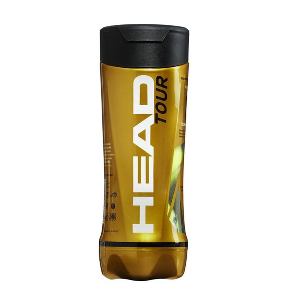 Head Tour Tennis Ball - 3 Ball Can x 4