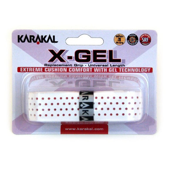 Karakal X Gel Grip - Assorted - 1pk