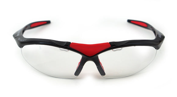 Karakal Pro 3000 Sports Protection Goggle Black Red