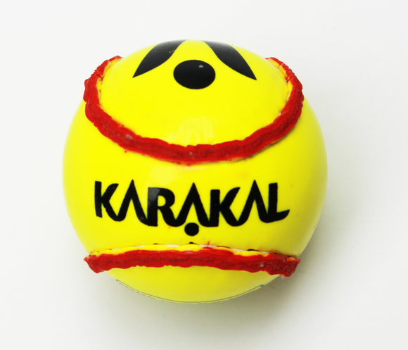Karakal Training Sliotar Senior Fluo Yellow Red
