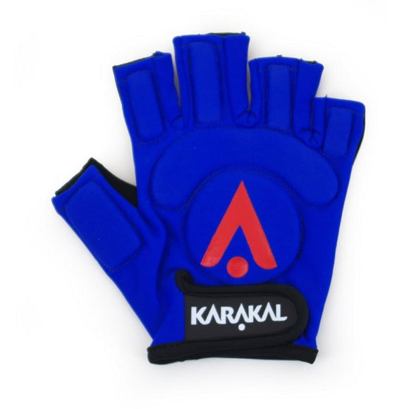 Karakal Absorb Hurling Glove Left Hand Blue