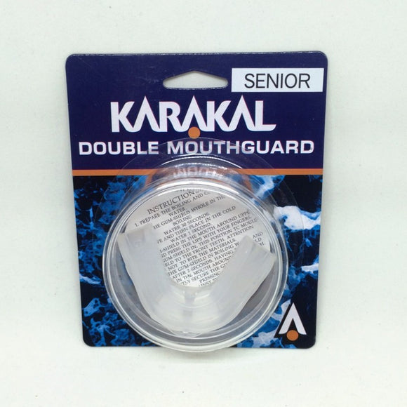 Karakal Double Gumshield - Senior - (Clearance)