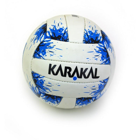 Karakal First Touch Gaelic Ball White/Blue - Splash