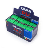 Karakal PU Super Grip - Solid - Fluo Green - Box of 24
