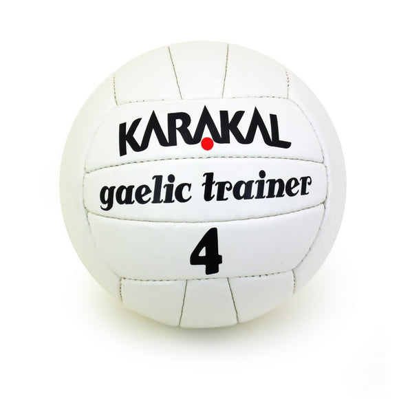 Karakal  Gaelic Trainer Ball - White