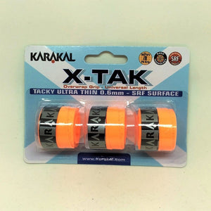 Karakal X Tak Overwrap Grip - Assorted - Tub of 72