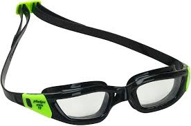 MP Tiburon Goggle Clear Lens - Black