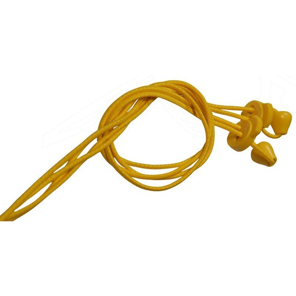 More Mile Tri Easy Elastic Shoe Laces Yellow