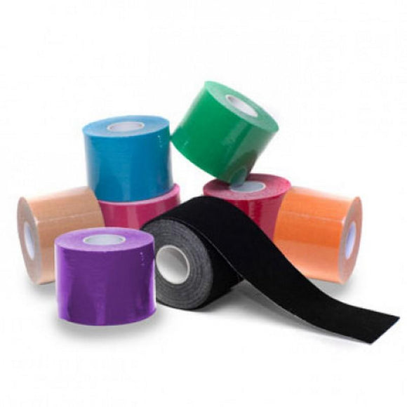More Mile 3m Kinesiology Tape Black
