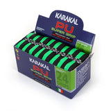 Karakal PU Super Grip - Duo - Black/Green - Box of 24