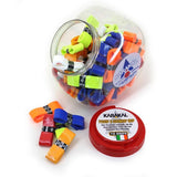 Karakal Nano 60 Overwrap Grip - Assorted - Tub of 72
