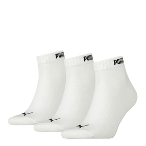 Puma Quarter Sock - 6 x 3pks - White