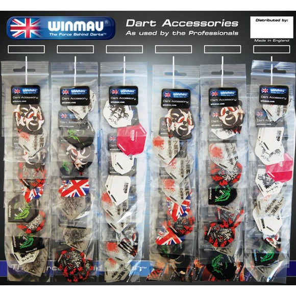 Winmau 60 Flight Holder Card