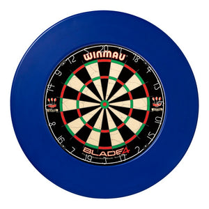 Winmau Dartboard Surround - Plain Blue