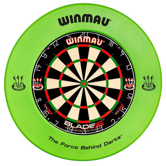 Winmau Dartboard Surround Printed Green