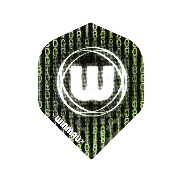 Winmau Embossed Standard Dart Flights - Matrix - 10pk